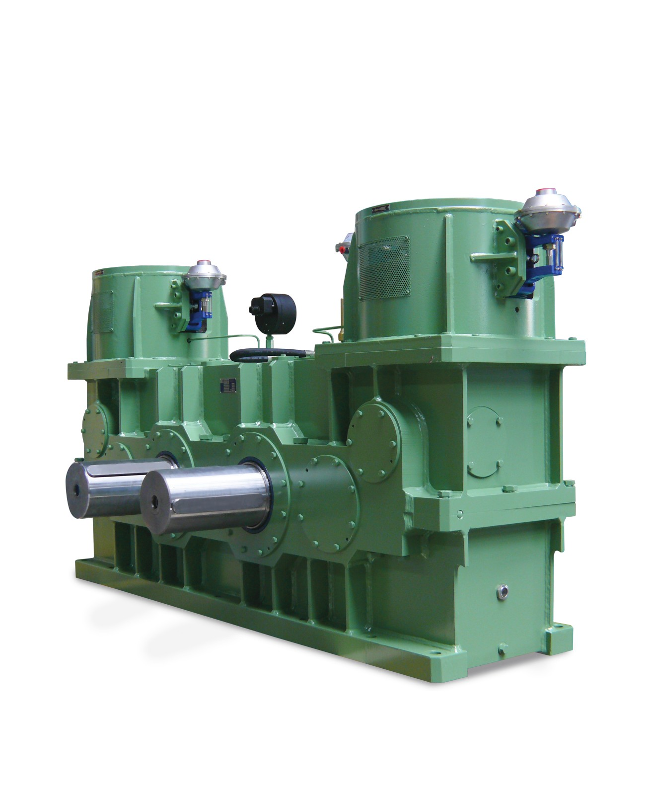 Helical or bevel-helical gearbox for two-roll mill - Wikov