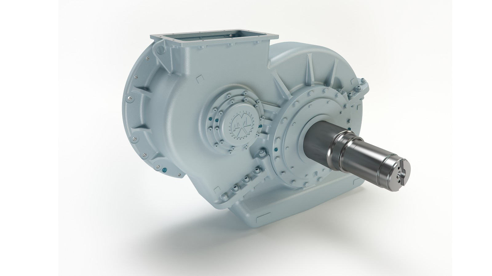 Axle gearboxes for locomotives - Wikov