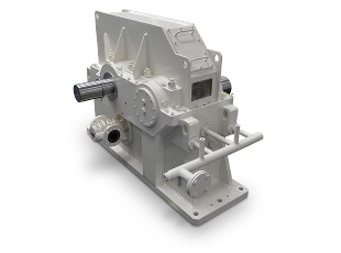 R1T turbo gear unit for a radial blower<br>in the paper industry