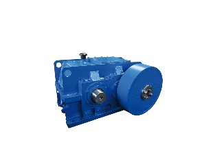 Cutting shear gearbox