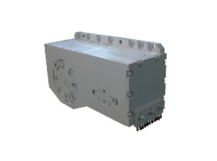 Crushing/milling machine gearbox
