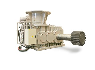 Anchor winch gearbox
