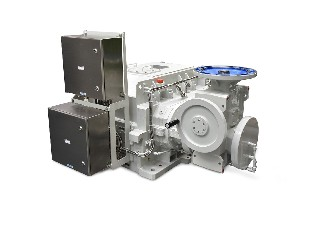 Turbo parallel shaft gear unit R1T<br>for a biomass power plant