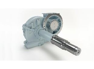 Axle gearbox for locomotives